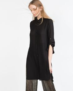 STRUCTURED TUNIC-Dresses-Woman-COLLECTION SS16 | ZARA United Kingdom