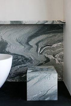 hullebusch natural stones | verde st laurent - honed | design by Merijn Degraeve