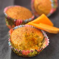 Découvrez la recette Muffin au potiron sur cuisineactuelle.fr.