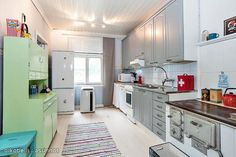 Myytävät asunnot, Köydenpunojankatu 35 Pohjola Turku #puutalo #keittiö #oikotieasunnot