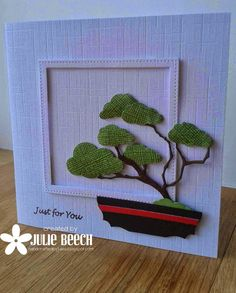 Crafted by Jules: Bonsai Tree