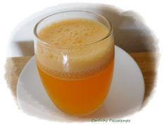 Cantinho Passatempo: Suco de maracujá,mamão e capim cidreira