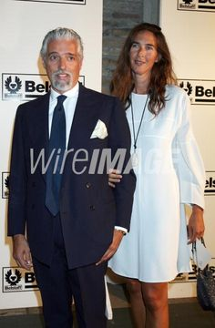 Picture of Giberto Arrivabene Valenti Gonzaga and wife Bianca d Aosta attend Not On Our Watch Charity Gala held at the Hotel Cipriani during the Venice Film Festival on August 26 2008 in Venice Italy. Celebrity Pictures, Film Festival, Venice, Italy, Celebrities, Coat, Greece, Royalty, Google Search