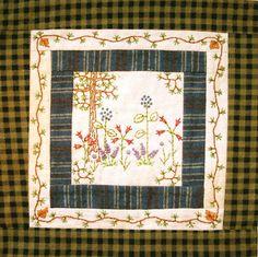 Sierra Quilt Patterns: WildFlowers Pattern