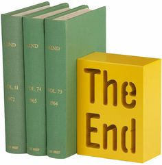 The End Bookend: $14.95