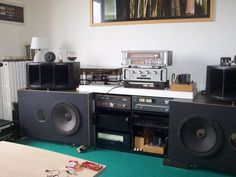 Fine french listening room