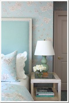 headboard...love the colors!!!!