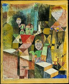 Paul Klee - Introducing the Miracle (1916)
