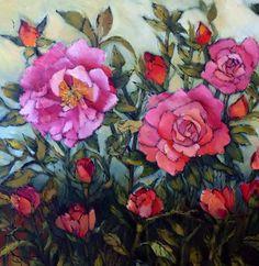 Spring roses by Liesel Brune