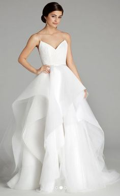 Featured Dress: Alvina Valenta; Wedding dress idea.