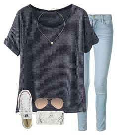 follow my social medias!¡ read d by serenag123 on Polyvore featuring Wrap, Frame Denim, Converse, Kendra Scott and Ray-Ban