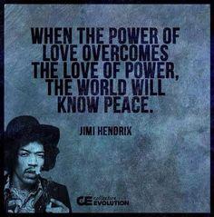 Hendrix power of love