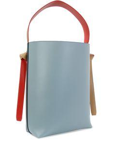 Кожаная сумка Cabas от CELINE