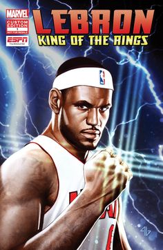 ESPN and Marvel present LeBron: King of the Rings