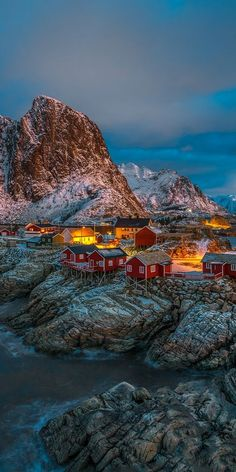 15 Amazing Places to Visit in Norway - anna rose - 15 Amazing Places to Visit in Norway Reine, Lofoten Islands, Norway - Norway Places To Visit, Visit Norway, Cool Places To Visit, Places To Travel, Places To Go, Lofoten, Sweden Travel, Norway Travel, Tromso