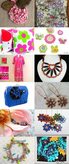 Flowers in our lives ... by Natalia Gulenok on Etsy--Pinned+with+TreasuryPin.com