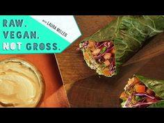 Baked Falafel   Raw. Vegan. Not Gross - YouTube