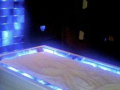 Crystals - Himalayan Salt bed for massages, relaxation, slimming