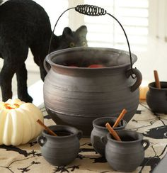 This is from Pottery Barn, their 2010 Halloween collection...I am kicking myself for not buying it because now its no where to be found :(