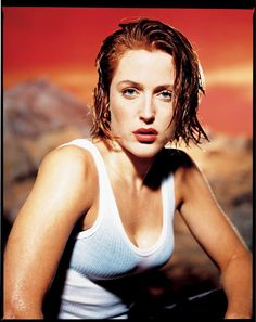Gillian Anderson by Mark Seliger