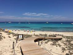 Formentera island Ibiza strand