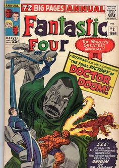 The Fantastic Four Annual #2.