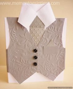 Shirt and Tie Card with Bonus Printable