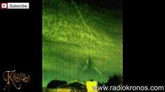 OVNIS (Ufos) en el eclipse de luna de sangre 2015 / Nube OVNI en forma de V