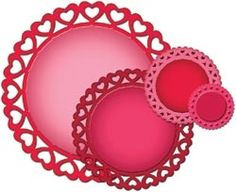 S4-316 Spellbinders HEART CIRCLES Case 5