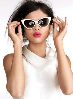 Selena Gomez here..reminds me of  the classic elegance of Audrey Hepburn