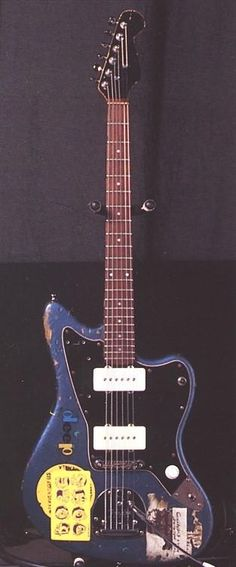 Sonic Youth's blue Jazzmaster