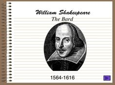 Shakespeare Life & Times Introduction Powerpoint Presentation - great introduction to ANY Shakespeare unit.