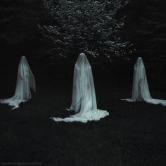 The Three Norns by SheWalksInSilence