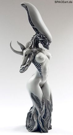 Alien: Female Alien Mother, Modell-Bausatz ... http://spaceart.de/produkte/al005.php