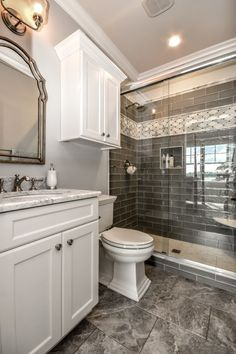 Are you struggling to come up with bathroom makeover ideas? Checkout this awesome diy bathroom makeover ideas on a budget for inspiration. Guest Bathroom Remodel, Bathroom Renos, Bath Remodel, Bathroom Renovations, Home Remodeling, Restroom Remodel, Bathroom Makeovers, Bathroom Interior, Shower Remodel