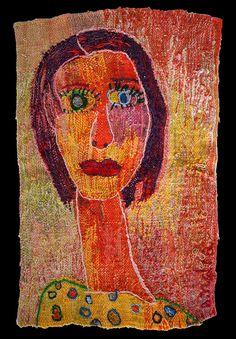 Self-portrait Tapestry - Textile