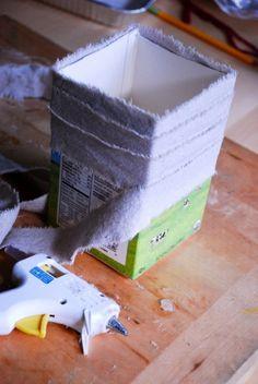 Como hacer macetas recicladas para adorno