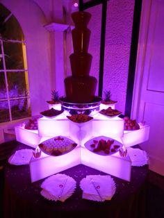 Chocolate Fountain Hire Herts... ~ Hot Chocolates Blog #wedding #weddings #bride #groom #dress #cake #bouquet www.hotchocolates.co.uk www.blog.hotchocolates.co.uk www.evententertainmenthire.co.uk