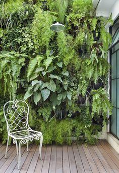 Loft 178 - Jardim vertical!