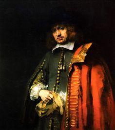 Rembrandt van Rijn     Jan Six / Portrait of Jan Six    1654. Tuval üzerine yağlıboya. 112 x 102 cm. Foudation Six, Amsterdam.