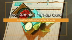 Free Standing Pop Up Card