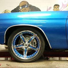 chevelle asanti af144 5 star wheels blue