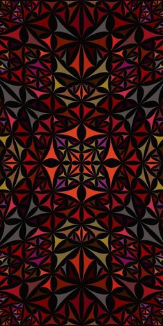 Colorful seamless kaleidoscope pattern background design - abstract geometric vector wallpaper illustration from curved triangles Artsy Background, Triangle Background, Background Patterns, Japanese Wallpaper Iphone, Iphone Wallpaper Video, Cellphone Wallpaper, Beautiful Wallpaper For Phone, Back Wallpaper, Mandala Pattern