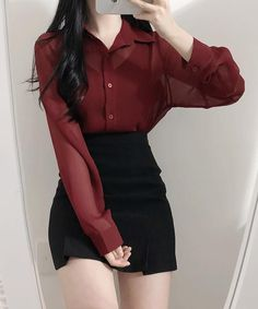 Korean Outfit Street Styles, Korean Fashion Dress, Kpop Fashion Outfits, Girls Fashion Clothes, Ulzzang Fashion, Korean Outfits, Mode Outfits, Girly Outfits, Cute Casual Outfits