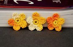 Marcadores de página de crochê | Blog||De Repente: Mãe. Dicas, relatos e bom humor