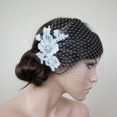 birdcage veils for weddings | birdcage veils | wedding ideas