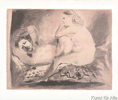 Pablo Picasso The Sleeping Men (Le Dormeur), 1942 Lithography Pablo Picasso Artwork, Picasso Prints, Picasso Sketches, Picasso Drawing, Trinidad, Sleeping Man, Cubist Movement, Georges Braque, Art Archive