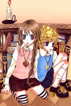 """It is 100 years since our children left. i II iii - Manga Girl, Anime Manga, Anime Tattoos, Manga Artist, Animation, Classic Comics, Anime Hair, Manga Covers, Beautiful Anime Girl"