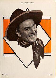 HARRY CAREY - Universal Pictures - Album Cine-Mundial (Jan-Dec 1922) Harry Carey, Picture Albums, Great Smiles, Magazine Articles, Universal Pictures, Silent Film, Jaba, Print Ads, The Borrowers