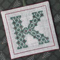 Alphabet Ornaments Three - #crossstitch #needlework #linen #silk #crafts #stitching #stitchers #threadwork #needlepoint #drawnthread #christmascraft #christmas #ornaments http://drawnthread.com/new.html